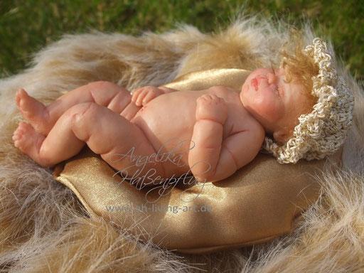 Ooak Luisa Mini Baby Polymer Unikat