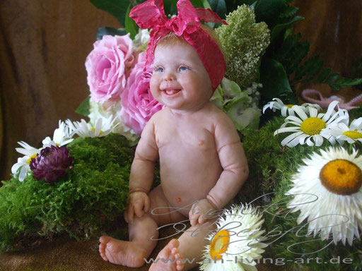 Polymer Ooak Baby Puppe Lea-Maria
