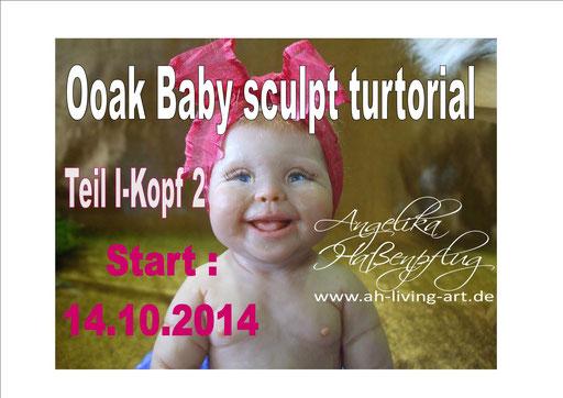 ooak sculpt turtorial baby angelika Haßenpflug