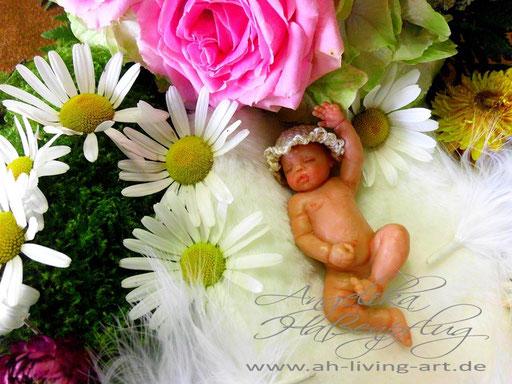 Ooak Mini Baby Jenny Skulptur