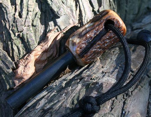 Coyle Outdoors Handmade Antler Ferro Rods