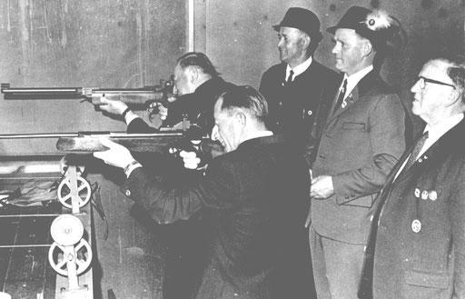 Eröffnung des Gauschießens 1970