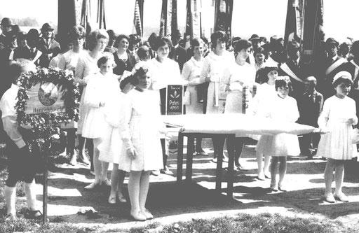 Fahnenweihe 1966