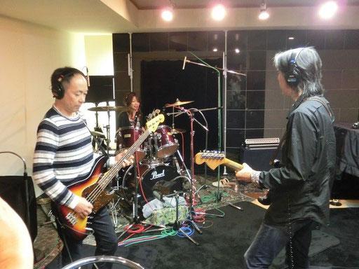 レコーディング、楽しい~♪