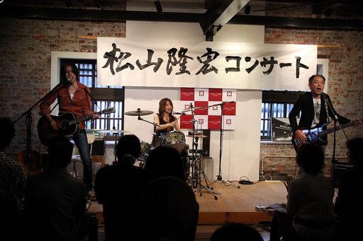 撮影:野村詩朗さん キレイに撮ってもらえたよー。PC版でご覧の皆さん、写真をクリックするとデカクなるよー!