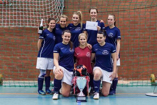 Der Gewinner des 1. dodenhof Sport Cup, der TSV Zarpen