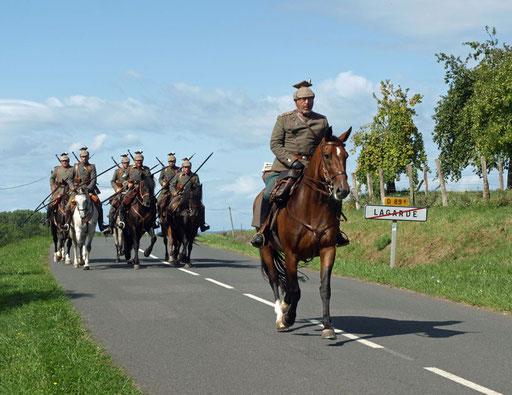Kavallerie, Kavallerieverband, Lagarde