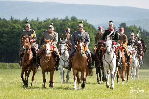 Kavallerie, Kavallerieverband, Deutsche Kavalleriemeisterschaft, bayerische Mannschaft, Rossfoto, Dana Krimmling