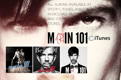 Martin 101 albums on all download stores worldwide