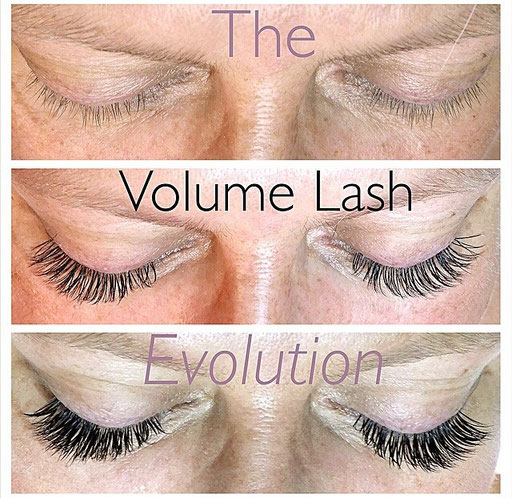 Volume Lash for sparse natural lashes