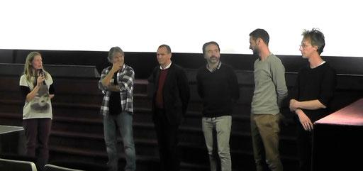 Nadège Herrygers, Bruno Humbeeck, Willy Lahaye, Bertrand Guerry, Thibaut Ras, Maxime Berger