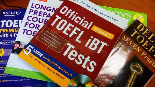 TOEFL 対策 おススメ本