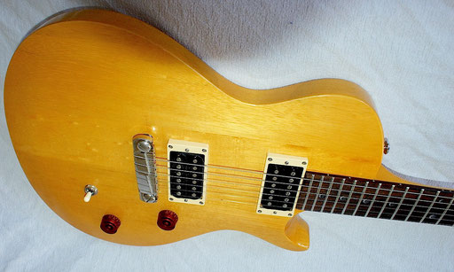 I simply wanted an all-Korina guitar and the 1958 Gibson Explorer was a bit too expensive. Click to enlarge