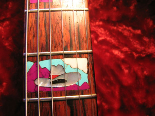 2015 rodeo girl 5th fret inlay