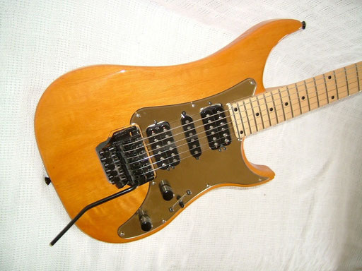 Very light and resonant. A shredder`s dream. My nightmare (But only because of the SG I gave away for it)