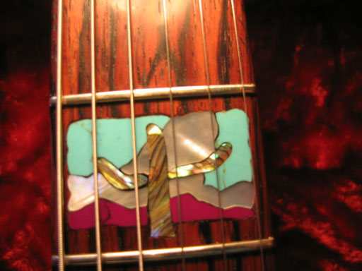 2015 Rodeo Girl 3rd fret inlay