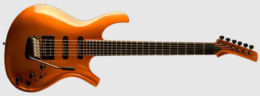 The Parker Dragonfly or Maxxfly and Signature model is propably the best looking Parker guitar so far. But it is more streamlined and less radical.