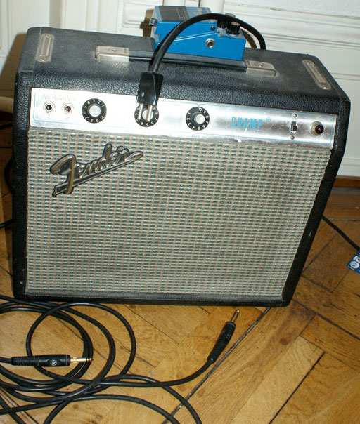SF Fender Champ approx. 1974 with a new Weber speaker