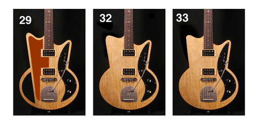 ...crazy add-on pickguard? No! But I like 32 and 33 and the following ...