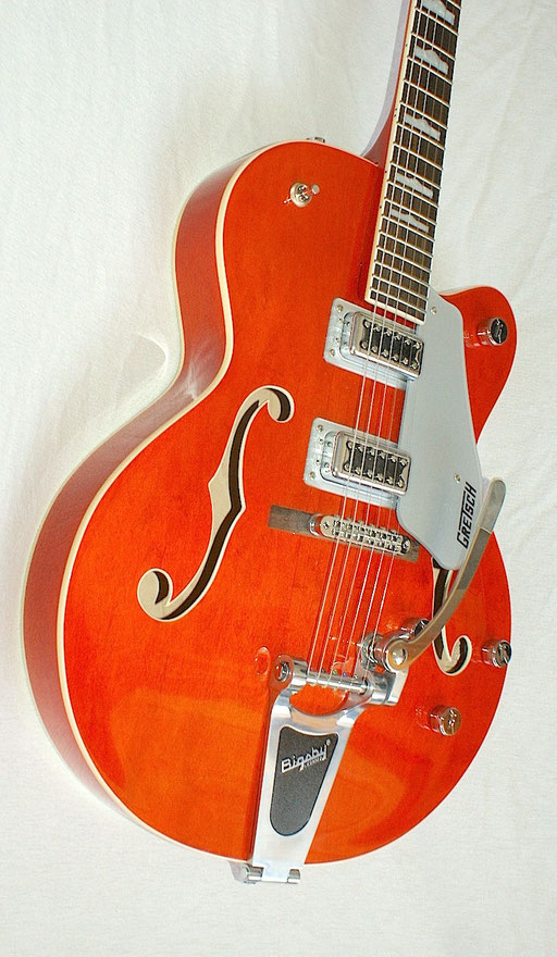 tuners, nut, Bigsby, pickups and electronics could be improved. Tuning stability is an issue. The rest is very well built.