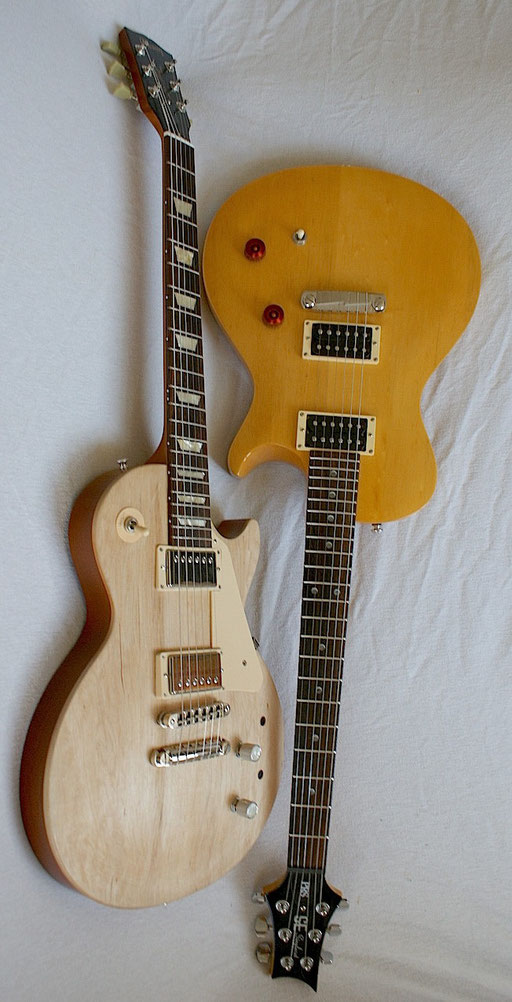 The other singlecut model I have is this PRS SE Korina 2 from Korea.