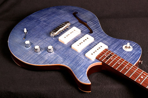 """my curvy plus-size PAULETTE. I know this is what some folks call """"guitar porn""""."""