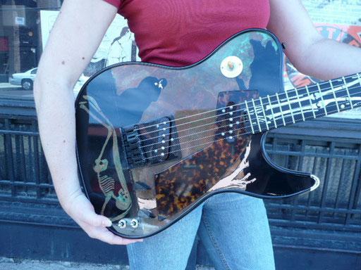 Girlbrand Remorsegirl Foto: Acme guitars, St. Louis.