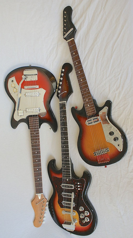 I love these vintage Japanese guitars from the 60s and early 70s!