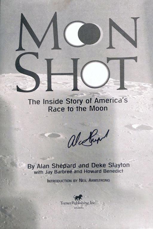 Autograph Alan Shepard Autogramm