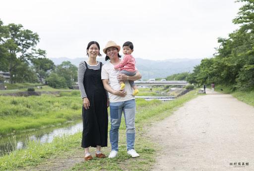 O様ご家族(2019年6月 デジタル写真)