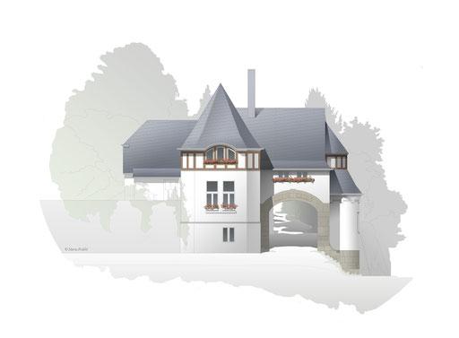 Sanierung Torhaus Haus Sabelsberg Boppard