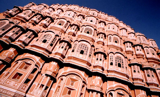The Palace of the Winds, Jaipur, Rajasthan, India.