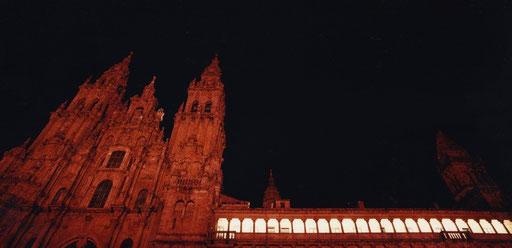 The cathedral of Santiago de Compostela, Spain.