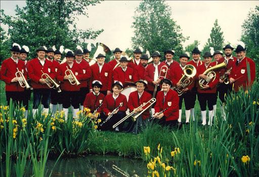 Bild zum 40-jährigem Jubiläum der Roßfelder Musikanten