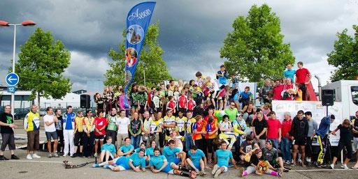 Photo de groupe de la deuxième édition en 2013