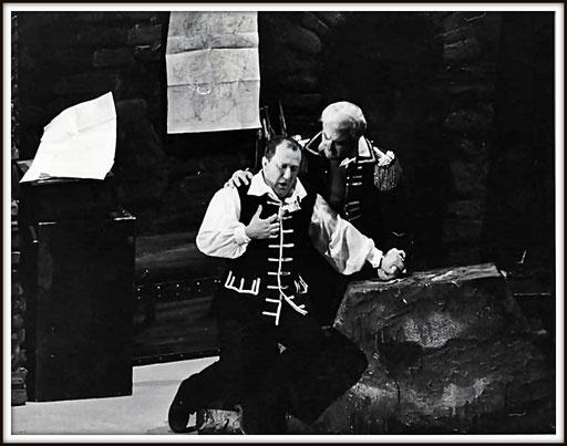 La forza del destino - Don Alvaro con Giuseppe Taddei (Don Carlo) - Teatro La Fenice 1966