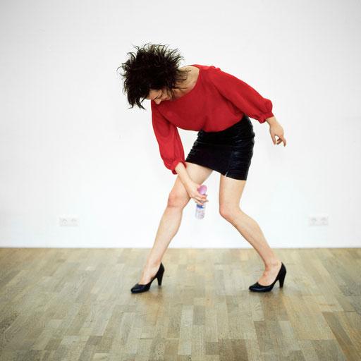 """Conditio humana"" / Darstellerin: Christina Hirt, © Nina Kreuzinger, 2013."