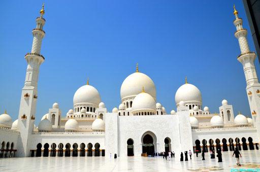 Abu Dhabi Sheik Zayed Moschee