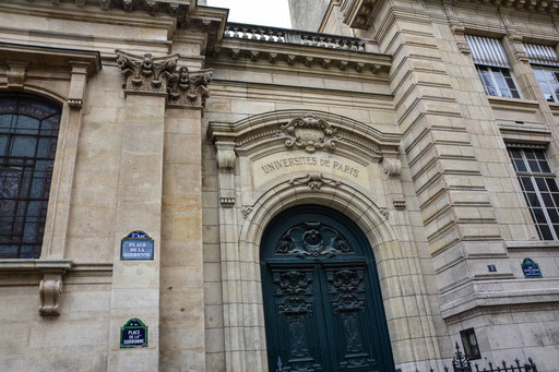 Teil der berühmten Pariser Universität Sorbonne