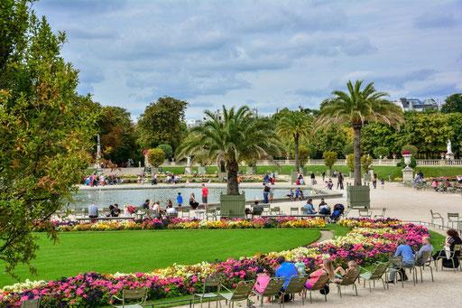 Parkanlage Jardin Louxembourg