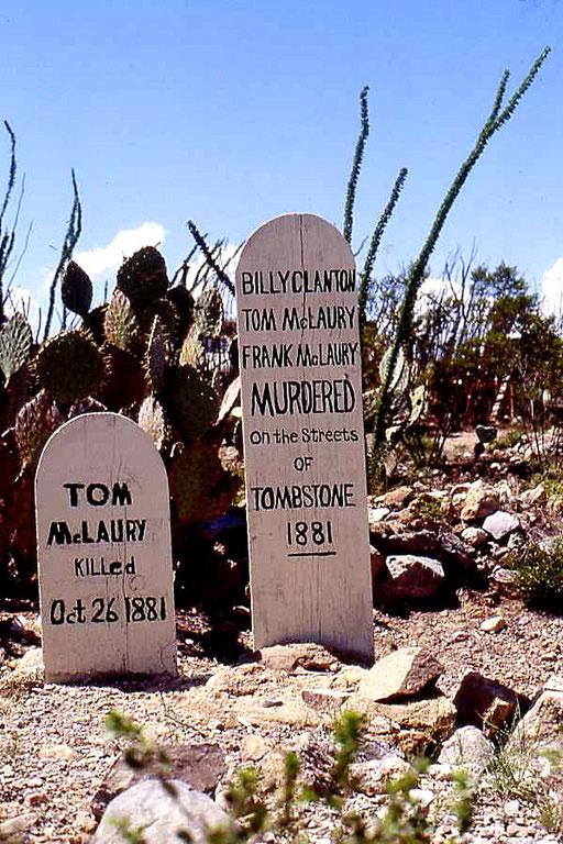 Ermordet auf den Straßen von Tombstone. Wahrheit oder Mythos?