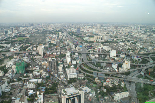 Bangkok - Blick vom Bayoke Tower