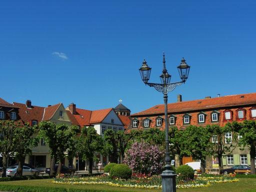 Vor dem neuen Schloss Bayreuth