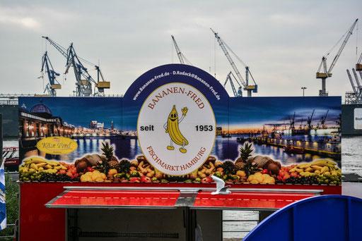 Fischmarkt auf St. Pauli - Leider hatten wir dieses Mal nicht viel Zeit für den Markt bzw. sind viel zu spät aufgestanden:)