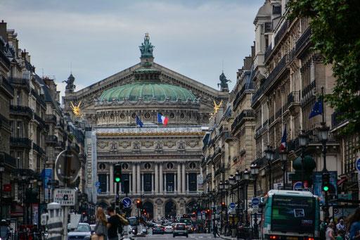 Opera Garnier - die alte Oper (die neue Oper befindet sich am Place de la Bastille)