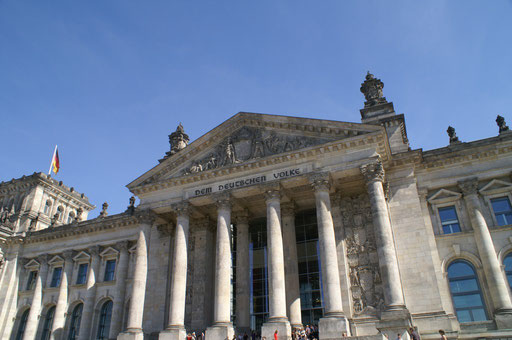 -Der Bundestag - Sitz der Regierung