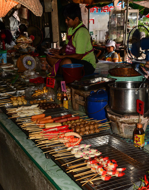 Markt in Chatturat (Isaan)