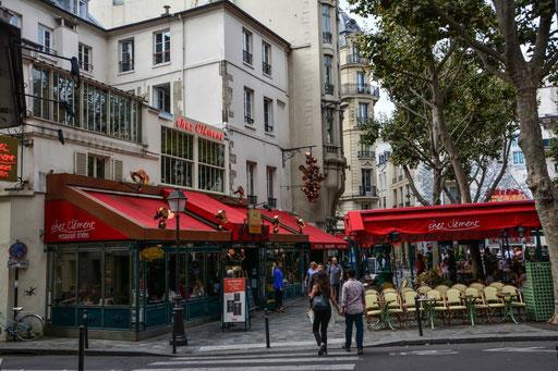 Szene aus der Gegend um den Boulevard St. Michel