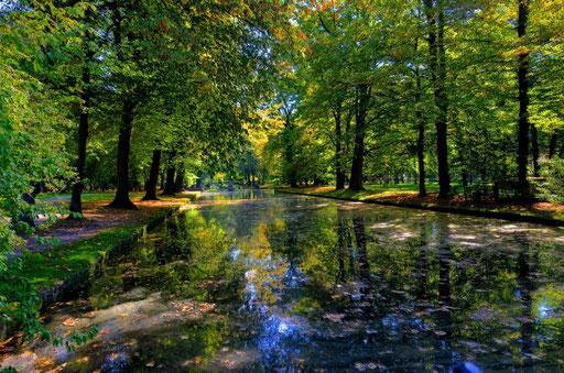 Herbststimmung im Hofgarten Bayreuth