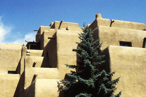 Lehmhäuser in Santa Fe